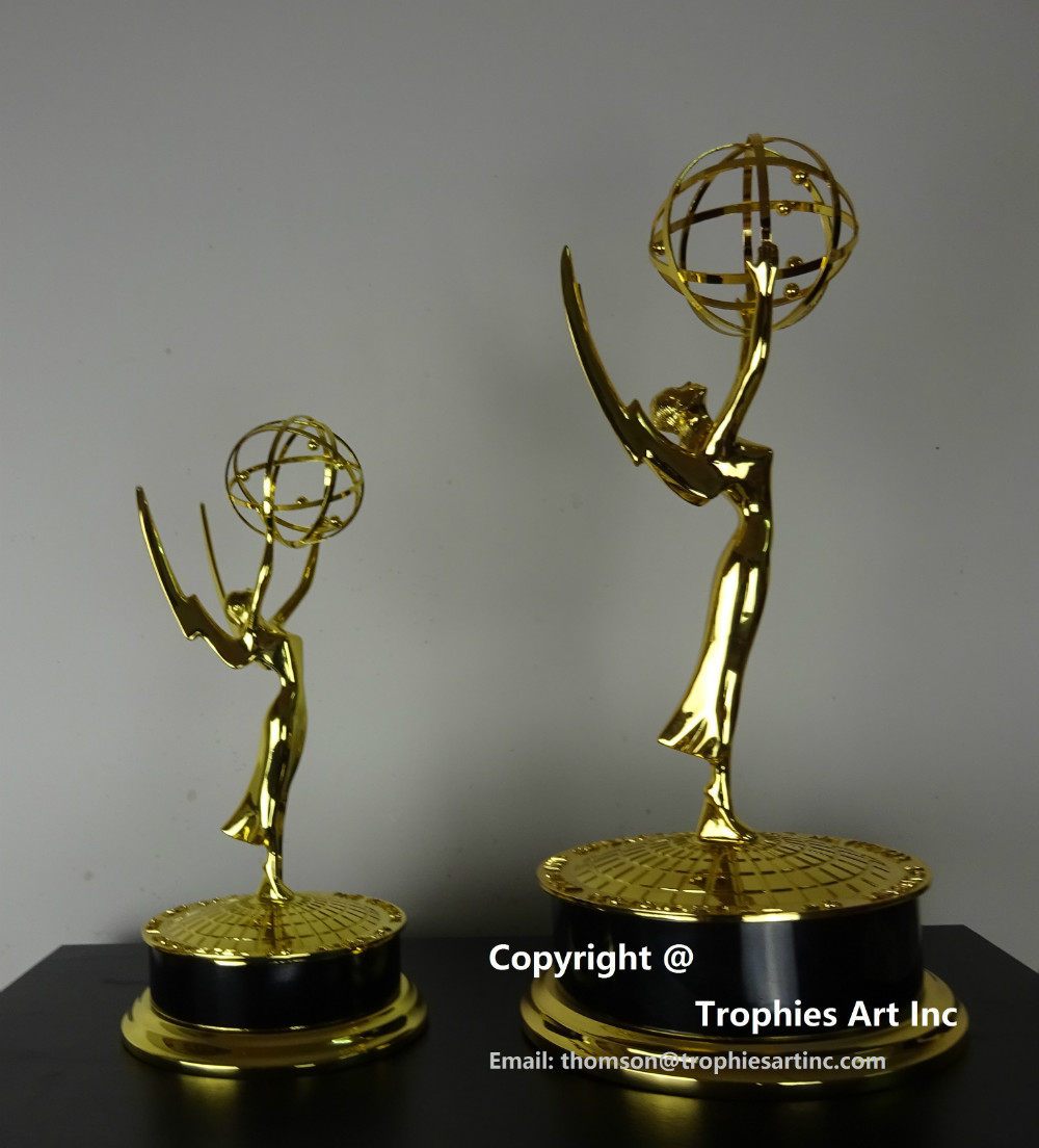 EMMY AWARD TROPHY 15.5 Inches (39 cm) FULL SIZE ONE-DAY DELIVERY