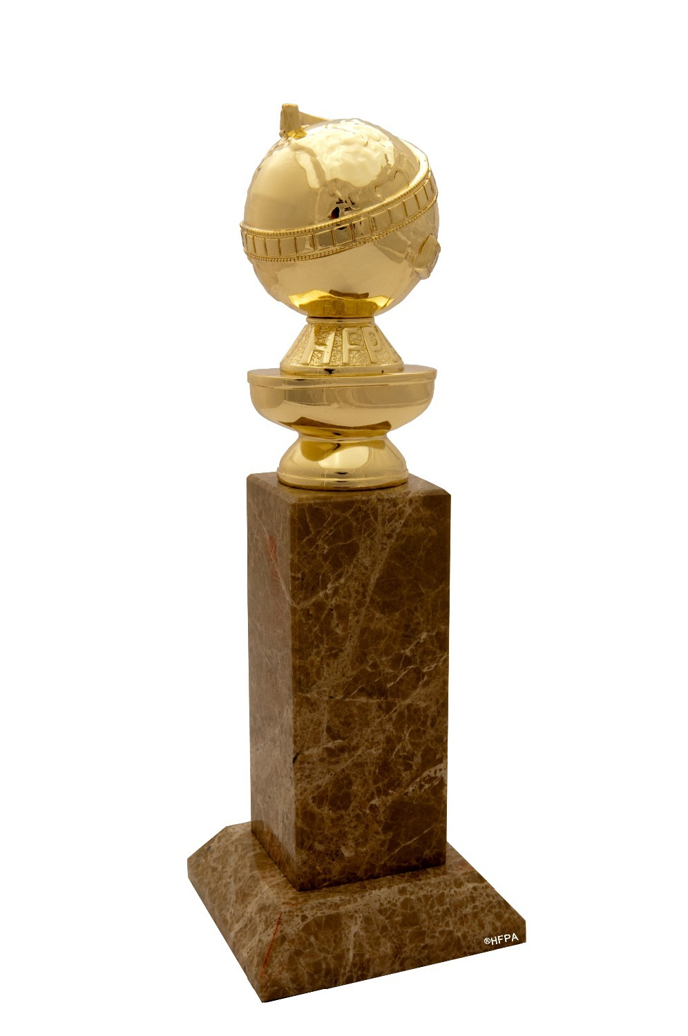 Golden Globe Awards Replica Zinc Alloy Trophy 10 Inches Via DHL