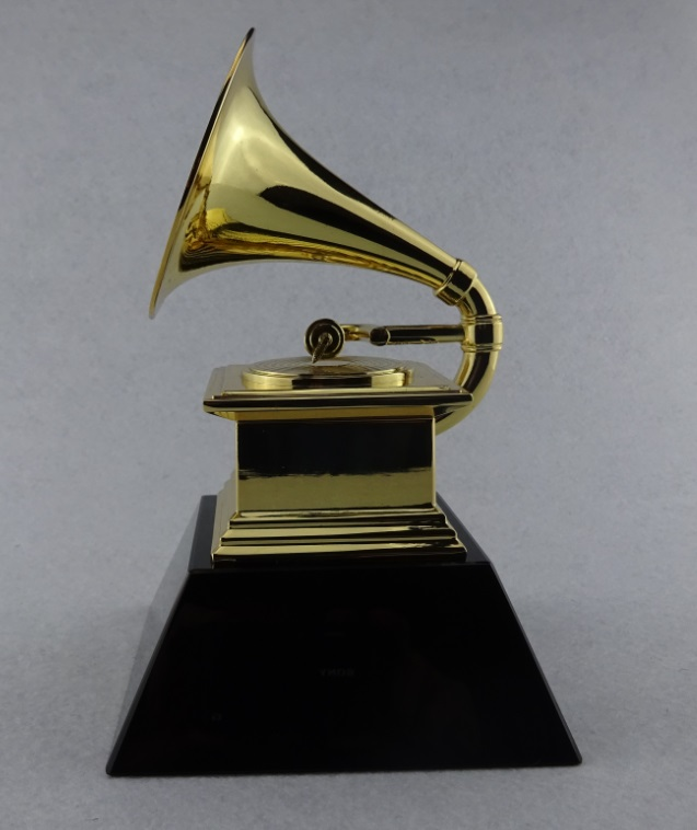 Grammy Award Trophy Trumpet Natural Customizable Engraving Name