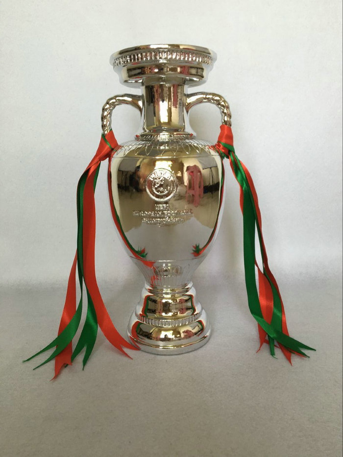 "EURO Cup Trophy 60cm High Full Size ""2016 Portugal"" Final Champi"
