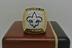 2009 Super Bowl XLIV New Orleans Saints Drew Brees Championship Ring