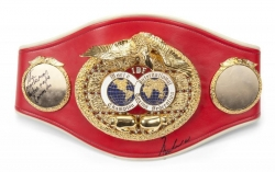 IBF Championship Belt Boxing Legends Gold plated Replica Belt 1:
