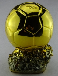 Ballon d'Or 2017 Football World Player of the Year Trophy Resin