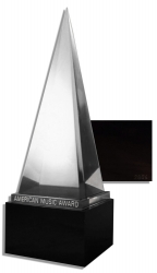 The American Music Awards Crystal Pyramid Trophy by AMAs