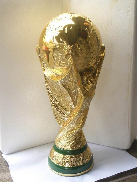 World Cup Trophy 18K Gold 36.8cm(14'') Tall Football Champi